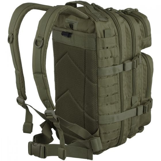 Mil-Tec US Assault Pack Laser Cut Small Einsatzrucksack Oliv