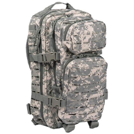 Mil-Tec US Assault Pack Laser Cut Small Einsatzrucksack ACU Digital