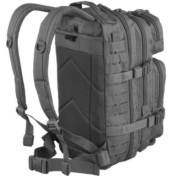 Mil-Tec US Assault Pack Laser Cut Small Einsatzrucksack Urban Grey