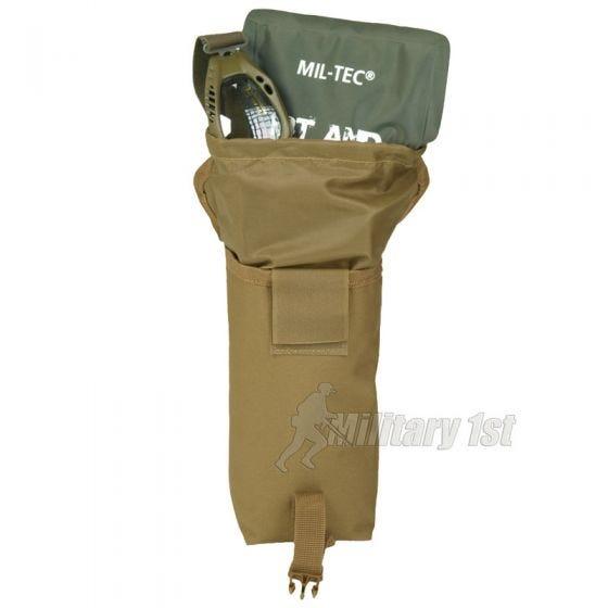 Mil-Tec Mehrzwecktasche mit MOLLE-Befestigungssystem Coyote Klein