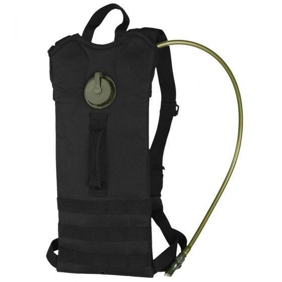 Mil-Tec Basic Trinkrucksack mit MOLLE-Aufnahmeschlaufen Schwarz