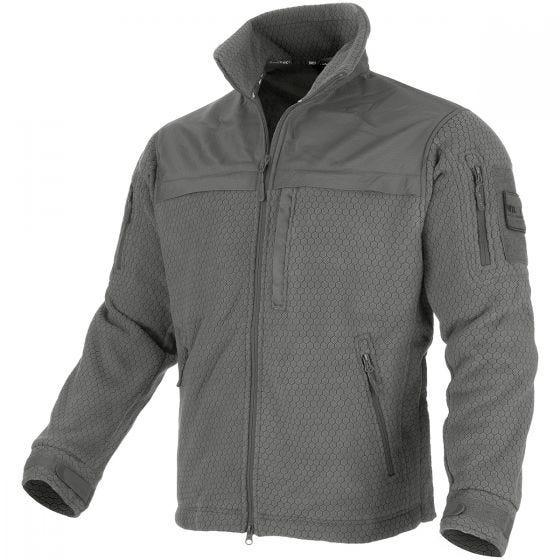 Mil-Tec Elite HexTac Fleece-Jacke Urban Grey