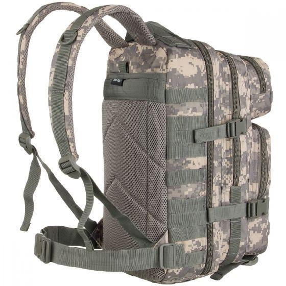 Mil-Tec US Assault Pack Small Einsatzrucksack mit MOLLE-Befestigungssystem ACU Digital