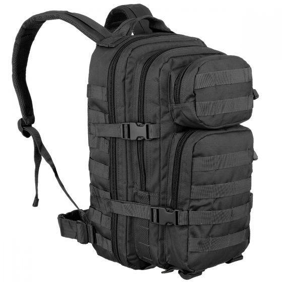 Mil-Tec US Assault Pack Small Einsatzrucksack mit MOLLE-Befestigungssystem Schwarz