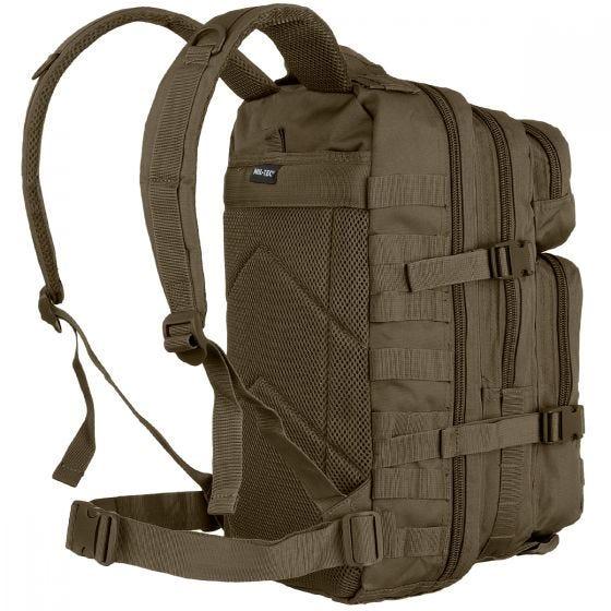 Mil-Tec US Assault Pack Small Einsatzrucksack mit MOLLE-Befestigungssystem Oliv