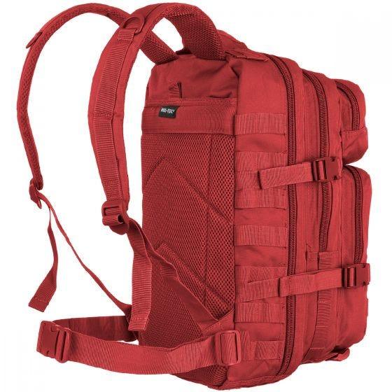 Mil-Tec US Assault Pack Small Einsatzrucksack mit MOLLE-Befestigungssystem Rot