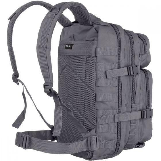 Mil-Tec US Assault Pack Small Einsatzrucksack mit MOLLE-Befestigungssystem Urban Grey