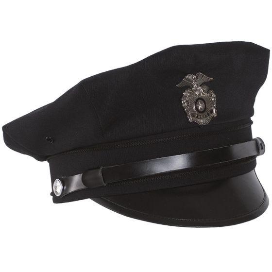 Mil-Tec US Police Schirmmütze Dunkelblau