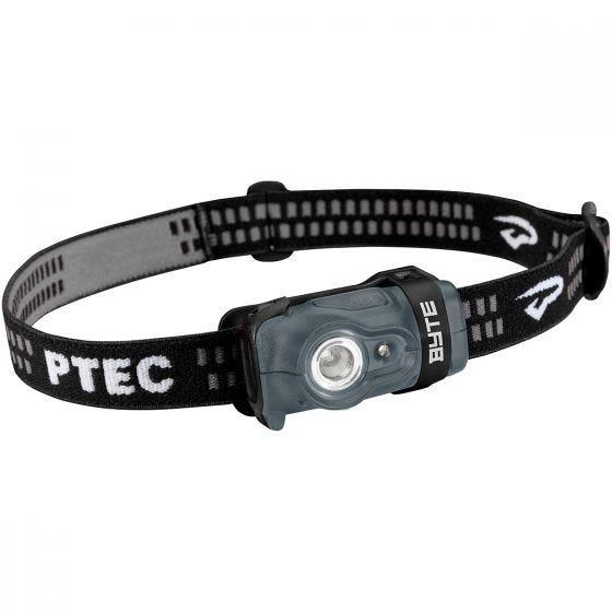 Princeton Tec Byte Stirnlampe weiße/rote LEDs schwarzes/graues Gehäuse