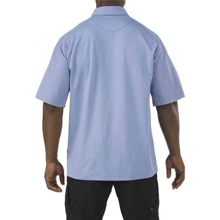 5.11 Rapid Performance Polo Short Sleeve Fire Med Blue