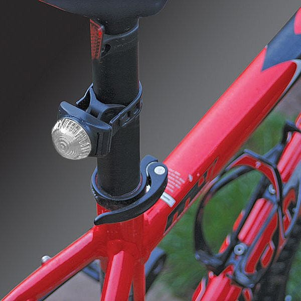 Adventure Lights Guardian LED-Fahrradlampe Weiß