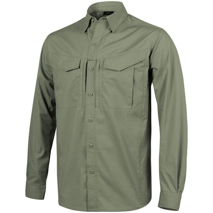 Helikon Defender Mk2 langärmliges Hemd Olive Green