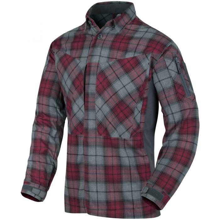 Helikon MBDU Flannel Shirt Ruby Plaid