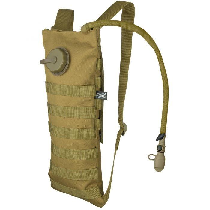 MFH Trinkblase und Tasche mit MOLLE-Befestigungssystem Coyote
