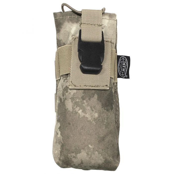 MFH PRC 148 MBITR Tasche für Handfunkgerät mit MOLLE-Befestigungssystem HDT Camo AU
