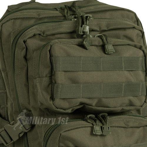 Mil-Tec US Assault Pack Large Einsatzrucksack mit MOLLE-Befestigungssystem Oliv