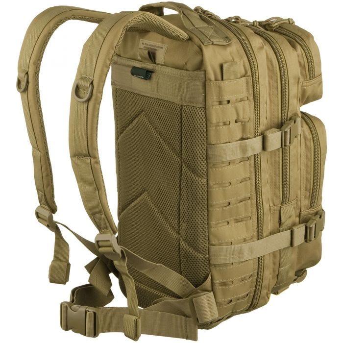 Mil-Tec US Assault Pack Laser Cut Small Einsatzrucksack Coyote
