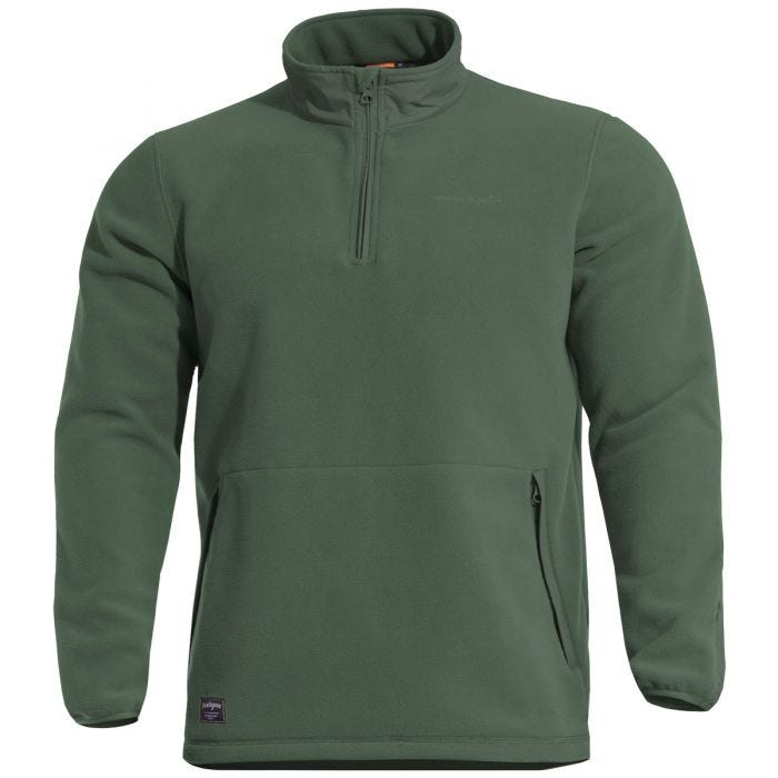 Pentagon Kedros Fleece-Sweatshirt Camo Green