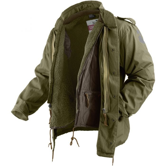 Surplus M65 Regiment Jacke Oliv