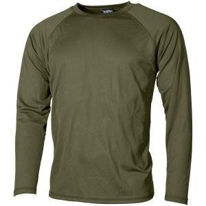 MFH US Level I Gen III Langärmliges Unterhemd OD Green