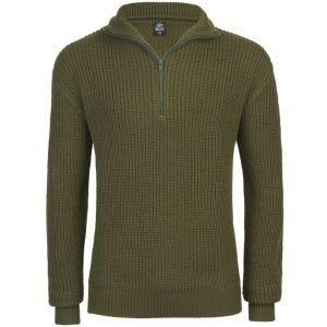 Brandit Marine Troyer-Pullover Olivgrün
