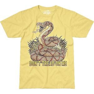7.62 Design Don't Tread On Me T-Shirt Gelb