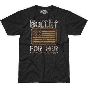 7.62 Design Bullet For Her T-Shirt Schwarz