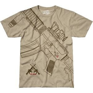 7.62 Design Get Some T-Shirt Sand