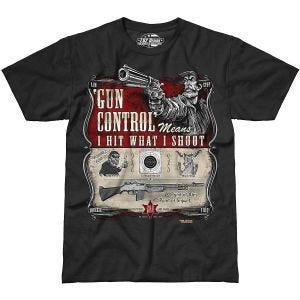 7.62 Design Gun Control T-Shirt Schwarz