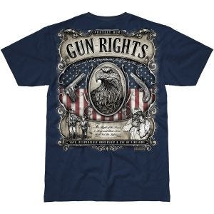 7.62 Design Gun Rights T-Shirt Navy Blue