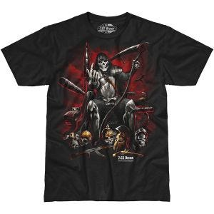 7.62 Design Warlord T-Shirt Schwarz