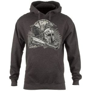 7.62 Design With Your Shield Kapuzenpullover Charcoal Heather