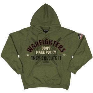 7.62 Design Warfighters Kapuzenpullover Heather Green