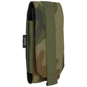 Brandit MOLLE Phone Pouch Large Woodland
