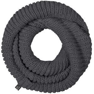 Brandit Gestrickter Loop-Schal Anthracite Melange