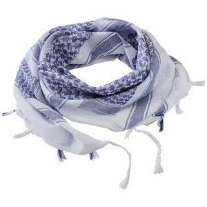 Brandit Shemagh-Tuch Blau / Weiß