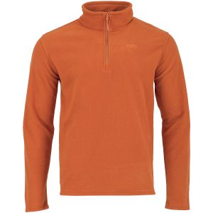 Highlander Ember Fleece-Pullover Pumpkin Orange
