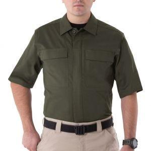 First Tactical V2 Herren BDU-Hemd kurzärmelig OD Green