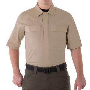 First Tactical V2 Herren BDU-Hemd kurzärmelig Khaki