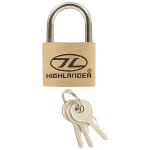 Highlander 20mm Brass Padlocks 2 pcs.