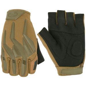 Highlander Raptor Fingerlose Handschuhe - Coyote Tan