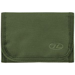Highlander Shield RFID Brieftasche - Olivgrün