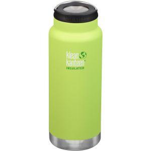 Klean Kanteen TKWide 946 ml Isolierte Trinkflasche mit Loop Cap Juicy Pear