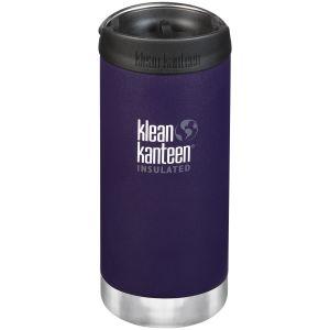 Klean Kanteen TKWide 355 ml Isolierte Trinkflasche mit Café Cap Kalamata