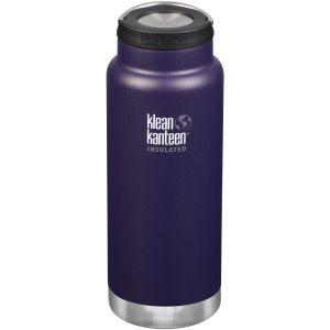 Klean Kanteen TKWide 946 ml Isolierte Trinkflasche mit Loop Cap Kalamata