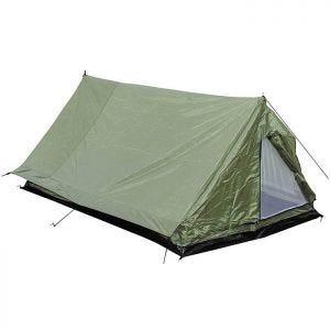 MFH Minipack 2-Personen-Zelt mit Moskitonetz OD Green