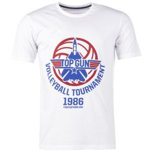 Mil-Tec T-Shirt Top Gun Weiß