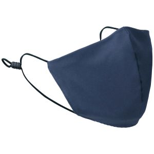 Mil-Tec Mouth/Nose Cover Wide Shape Ripstop Dunkelblau
