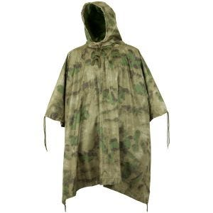 Wasserdichter Poncho Ripstop MIL-TACS FG