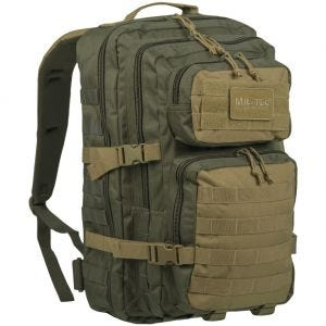 Mil-Tec US Assault Pack Einsatzrucksack Groß Ranger Green/Coyote